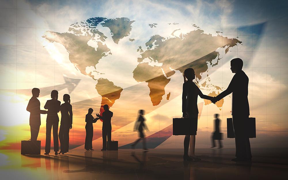 handshake world map